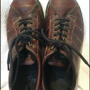 Dr Martens Brown Leather 6 Eye Oxford Shoes Unisex